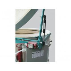 Four à grès électrique Rodhe TE 100 S ouverture verticale - Fours ROHDE Série TE S - Cigale et Fourmi