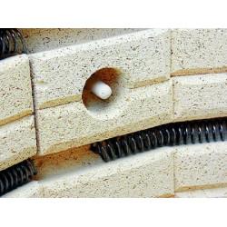 Four à grès électrique Rodhe TE 100 MCC ouverture verticale - Fours Rohde Verre + Céramique  - Cigale et Fourmi