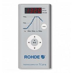 FOUR ROHDE TE110MCC - 110 LITRES AVEC ANNEAU -1300°C + TC304 - 400 TRIPHASÉ - Fours ROHDE série TE MCC+ - Cigale et Fourmi