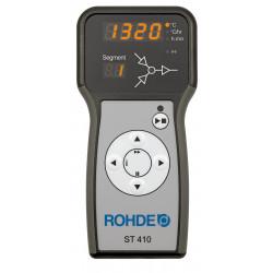 Four à grès électrique Rodhe TE 75MCC avec porte chauffante - Fours Rohde Verre + Céramique  - Cigale et Fourmi