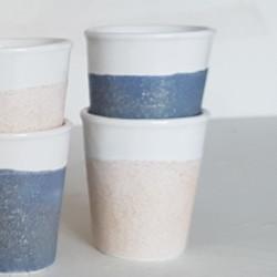EMAIL PREPARE A EFFETS SCINTILLANTS SABLE - 200 ml - Emaux faïence à effets scintillants liquides BOTZ 900°C - 1060°C - Cigale et Fourmi