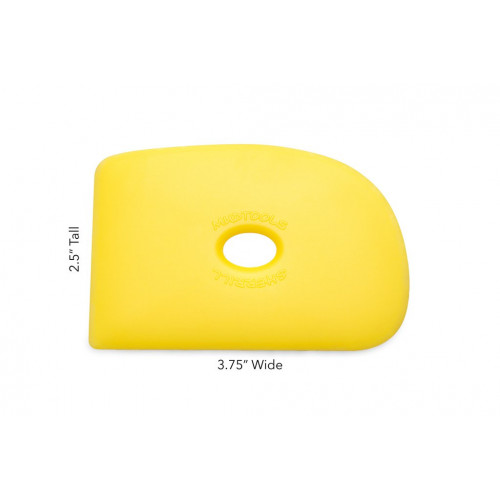 Esteque mudtools jaune souple n°2- outils mudtools - cigale et fourmi - Nos produits - Cigale et Fourmi