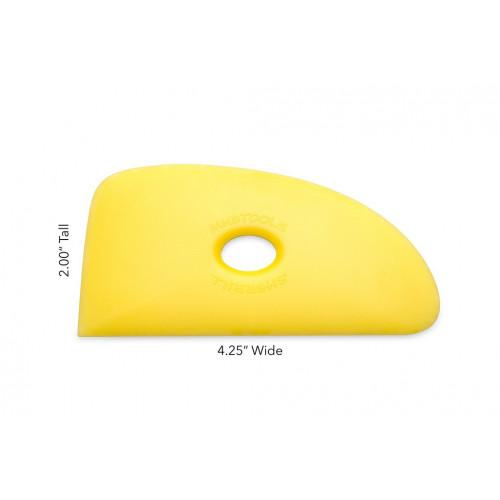 Esteque mudtools jaune souple n°4 - outils mudtools - cigale et fourmi - Nos produits - Cigale et Fourmi