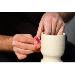 Esteque mudtools rouge tres souple n°0 - outils mudtools - cigale et fourmi - Nos produits - Cigale et Fourmi