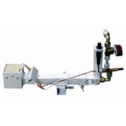 FOUR ROHDE A GAZ - AIR INDUIT - ROHDE TG 80 - 1320°C - Fours gaz 1320°C à enfournement vertical - Cigale et Fourmi