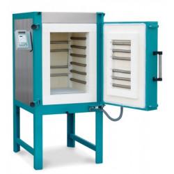 FOUR ROHDE 1320°C KE 250S + TC 304 400V TRIPHASE - 250 LITRES