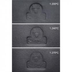 PORCELAINE NOIRE LISSE - BLACK ICE -  5 Kg