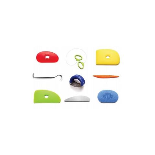 Kit essentiels Mudtools - outils mudtools - cigale et fourmi - Outils de découpe, de sculpture et modelage - Cigale et Fourmi