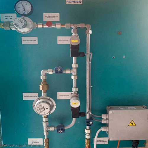 RÉGULATION DE CONTRÔLE CUISSONS GAZ - AVEC TC507 - Pyrométrie et régulations - Cigale et Fourmi