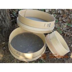 TAMIS BOIS - TOILE 120 - DIAMETRE 200 mm - Outils d'émaillage - Cigale et Fourmi