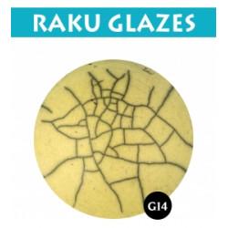 EMAIL RAKU LIQUIDE JAUNE CLAIR - 0,5 LITRES