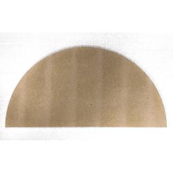 DEMI PLAQUE RONDE ENFOURN. DIAMETRE 406 mm x épaisseur 13 mm