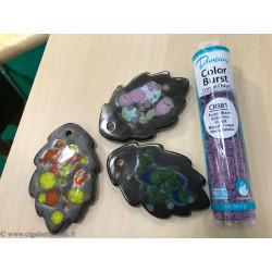 Email Duncan Éclat de Cristal Turquoise - 56g - Email faïence Eclats de cristal Duncan 1020-1080°C - Cigale et Fourmi