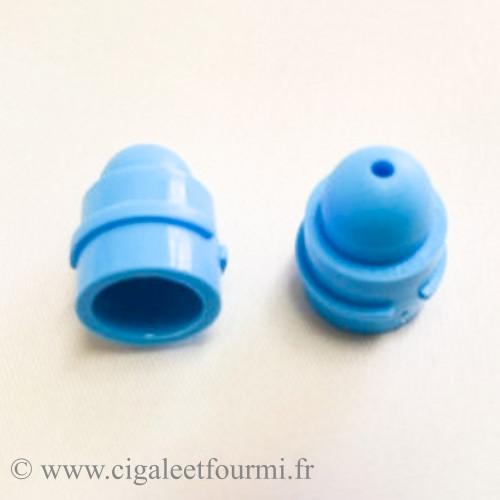 NATCHES DIAM 9 mm - HAUTEUR 17 mm - LES 10 - Alginate, Plâtres, Résine acrylique Gesmonite - Cigale et Fourmi
