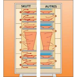 """FOUR SKUTT KMT1218-3"""" - 187 LITRES - 400V - 1300°C - Fours SKUTT grès - Cigale et Fourmi"""