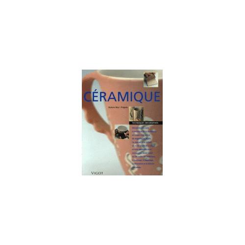 Photo CERAMIQUE -TECHNIQUES DECO-ROS I FRIGOLA - achat livres-sur-le-travail-de-la-terre en ligne avec Cigale et Fourmi