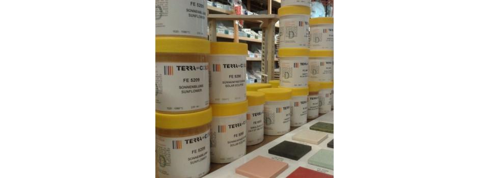 Émaux liquides Terra-Color 1020°C - 1080°C