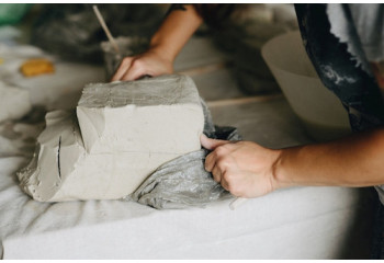 Terres à porcelaine: argile poterie & terre de potier