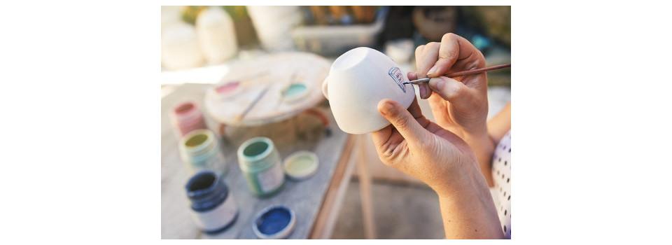 Couleurs céramique à Peindre