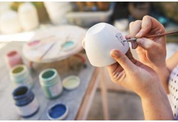 Couleurs céramiques à peindre & peinture ceramique