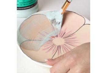 Peinture céramique sous émail & couleur ceramique