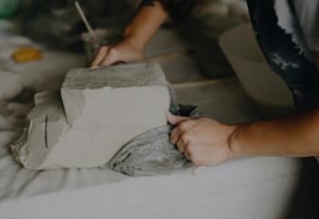 Argile poterie: raku, grès, argile autodurcissante