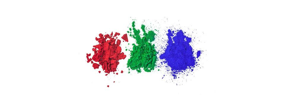 Oxydes, colorants et matières premières